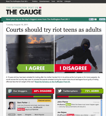Gauge screenshot